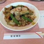 法曹会館 マロニエ - 五目野菜ヤキソバ 720円