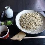 よしむら 清水庵 - 石臼挽き 十割蕎麦 1,080円