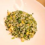 天厨菜館 - 評判のホウレンソウ炒飯