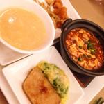 天厨菜館 - ランチセット