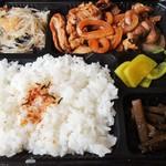 すえとみ - 料理写真:生姜焼き弁当