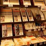 佐藤養助 - 充実の稲庭うどん販売コーナー