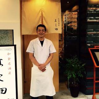 日本料理一筋の職人歴16年の店主が作る繊細な料理