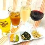 ツナグカフェ - ちょい飲みゴーゴーセット¥550