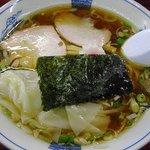 白河中華そば - 料理写真:雲呑麺