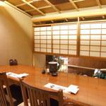 蟹工船 - カウンター式個室