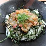 若松食堂 - 「今日のづけ丼(鯛)」づけ丼