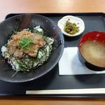 若松食堂 - 「今日のづけ丼(鯛)」680円