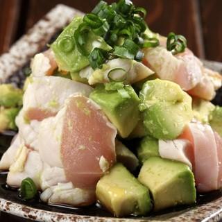 美桜鶏を使用した絶品鶏料理をどうぞ。