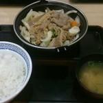 38401680 - 牛バラ野菜焼き定食