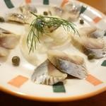 ペチカ - 2014年8月 にしんの酢漬け【450円】