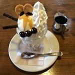 豆んちカフェ - 料理写真:ほろにがアイスクリン