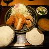 とんかつ和幸 - 料理写真:メンチ・コロッケ御飯(2015年5月)
