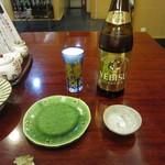 心洗庵 - 瓶ビール(ヱビス中瓶)