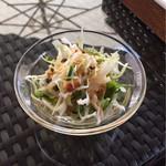 ウミネコ - セットのサラダ
