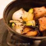 リストランテ プリマヴェーラ - 豚スペアリブと野菜の燻製