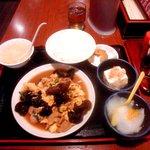 3841651 - A定食(木くらげ肉玉子炒め)