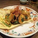 Ennagoya - 鶏せせりとれんこんの黒コショウ炒め