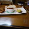 鳥梅やきとりコーナー - 料理写真:そと呑みーセット~☆