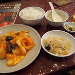 38415699 - 海鮮チリソース定食