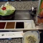串かつレストランくいじーぬ - セット