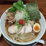 暁 製麺 - 冷やし追い鰹らぁ麺