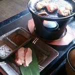 38418782 - 華花ランチ  鳥肉プレート焼き