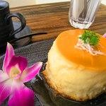 浜辺のTipi Cafe - ★ココナッツフランケーキ★(セット)