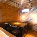 浜辺のTipi Cafe - 室内ダイニング席