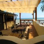 浜辺のTipi Cafe - テラス席