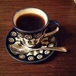 カフェ香咲 - カレーライスセットのコーヒー