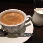 ラ・ピッコラ・ターヴォラ - ランチコーヒー(2015.5)