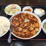 38421430 - 麻婆豆腐定食 820円→540円