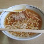 登山口食堂 - 料理写真:中華そば(並)