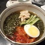 38423485 - 緑茶冷麺!