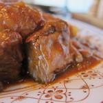 レストラン 西洋亭 - 料理写真:牛肉片がゴロゴロ・・・