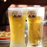 ジョンノ飯店 - 生ビール