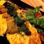 ガーラキッチン - 雲丹のふわとろオムレツ