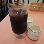イル・ピアット オチアイ - ランチセットのアイスコーヒー