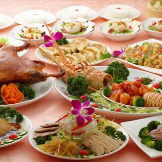 蓬莱春飯店オススメ豪華な宴会プラン