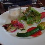 AGカフェ - 料理写真:パスタランチ(1620円)の前菜