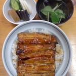 川栄 - 川栄(東京都北区赤羽)うな丼1900円