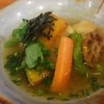 連根屋 - 白身魚のおろし煮