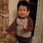 マサラ 徳島本店 - うちの甥っ子が乗ってるのもインドの置物!笑