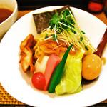 麺屋 波 - カレーつけ麺