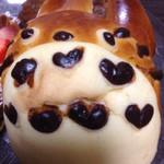 38435193 - トトロの形をした、チョコクリームパン