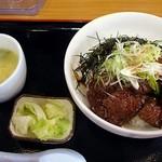 たにもと - サガリ丼(塩ダレ 大盛)