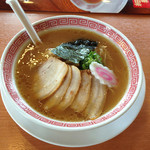 幸楽苑 - 料理写真:新メニューの醤油ラーメン「司」520円(税別)