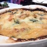 シャンパン食堂の洋食屋さん - 小エビのグラタン