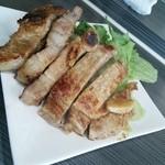 花菜 - 三元豚トンテキ